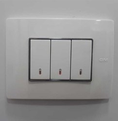 Multicolor Gm Modular Switch Plate