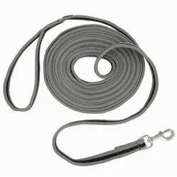 Decathlon Grey / Black Horse Riding Soft Work Leadrope