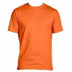 Round Neck Orange T Shirt