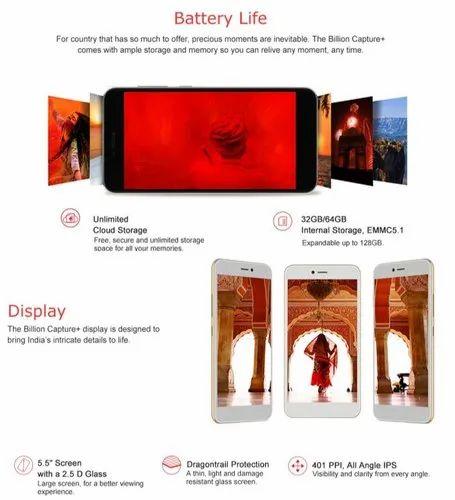 Billion Capture, 4GB 64GB 128GB, 5 5 inch Android Smartphone, Dual Sim, 4G