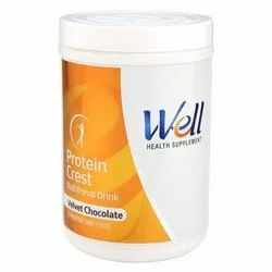 Well 500 gm Velvet Chocolate Nutritional Drink, Packaging Type: Plastic Bottle, Packaging Size: 500gm