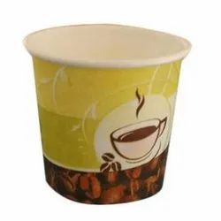 75 ML Coffee Printed Paper Cup, For Events and Parties, Packet Size: 50 Pcs