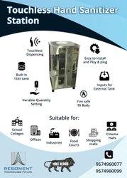 Hand Sanitizer Dispensing Kiosk