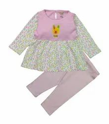 Baby Girl Stylish Top With Pant