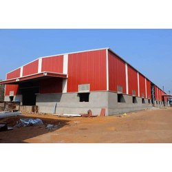 Mild Steel Prefab Industrial Shed