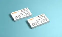 Multi Colour Digital Business Cards Printing, Size: 92 X 54 Mm