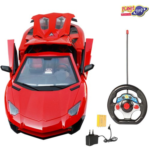 Remote Control Car For Kids 1 12 5 Function With Rechargeable Battery Red