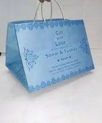Paper Printed Wedding Return Gift Bags, Capacity: 1 kg