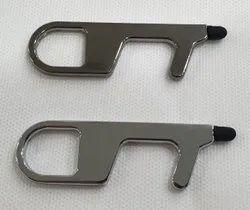 Safety covid key metal