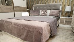 Solid Wood Queen Size Bed