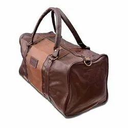 Brown Leather Luggage Bag, For Travelling