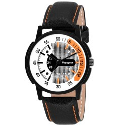 Stylish Gents Leather Watch