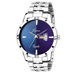 Jainx Blue Dial Day and Date Analog Watch for Men & Boys JM329