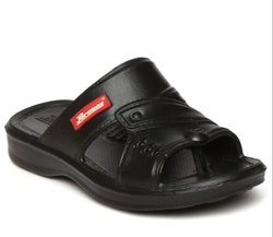 Paragon Kids Black P-Toes Flip-Flops