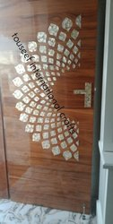 Wood Mother Of Pearl Inlay Door
