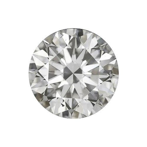 White Round Brilliant Cut SI Star Loose Diamond, Packaging Type: Box