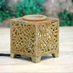 Soapstone/ Marble Aroma Oil Diffuser By Brahmz, For Home, Size: 3 Inch