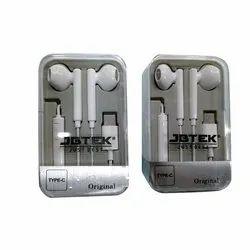 JBTEK C Type Mobile Earphone