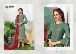 Blooming Designer Salwar Suit Shine:-3