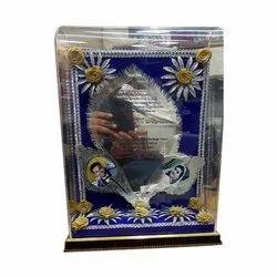 Box Invite Silver Plated Invitation Card, Size: 10 X 12 Inch