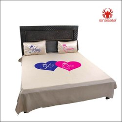 Logo Printed Bed Sheets