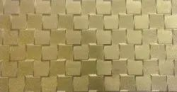 Living Room Gold Wall Tiles