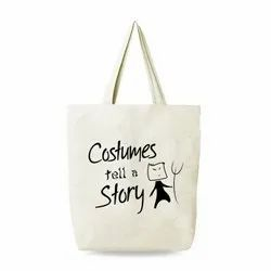 Cotton Printed Promotional Shopping Bag