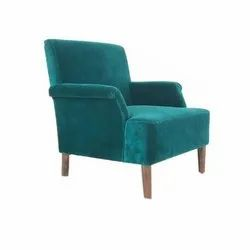 Green Wooden Sofa Chair, For Home