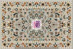 Isfahan Persian Wool & Silk Rug