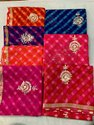 Kota Silk Gota Patti Hand Work Saree