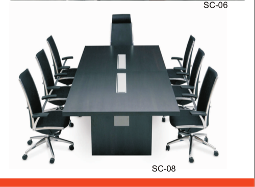 Wooden Rectangular Office Conference Table