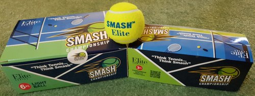 Rubber Green Smash Cricket Tennis Ball