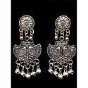 Oxidized Designer Earrings