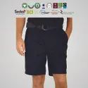 BCI cotton Mens Pleated shorts