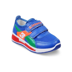Kids Blue Velcro Sports Shoes