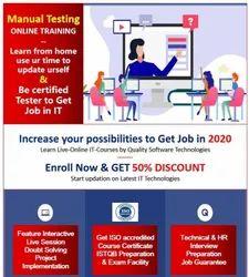 1 Month Manual Testing Training Service