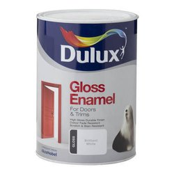 For Doors And Trims White Dulux Gloss Enamel