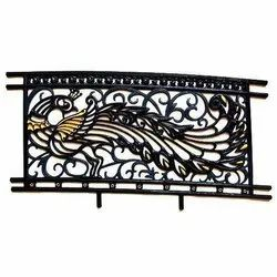 Modern Cast Iron Balcony Railing