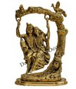 Brass Radha Krishna Jhula