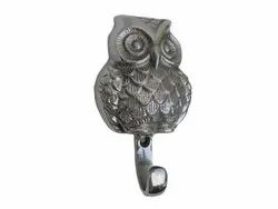 Metal Owl Coat Hook