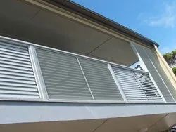 Balcony Louver Work