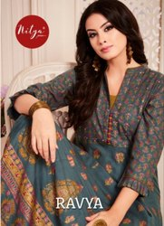 Printed Ready Made Designer Kurti