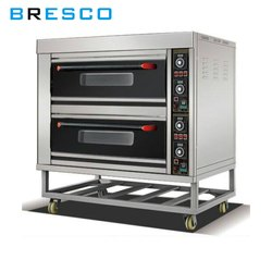 Bresco Electric Bakery Oven 2 Deck 4 Tray
