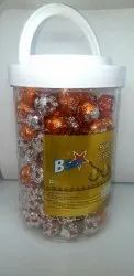 Ghee Indian Sweet Foot Ball Chocolate, Available Laddu: Imli And Suger Ladu, Packaging Type: 125 Piece In One Jar