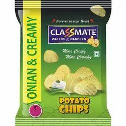 Classmate Fried Onion and Creamy Potato Chips, Box
