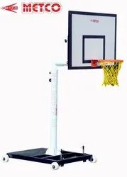 Movable Height Adjustable Basketball Pole
