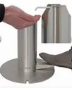 Foot Operated Stainless Steel Hand Sanitizer Dispenser