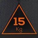 Decathlon 15 kg Hex Dumbbell