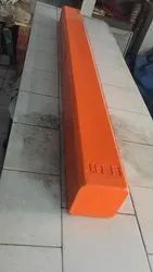 JBMR Red FRP Road Dividers for Safety