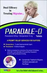 Paracetamol 325mg Domperidone 10mg Tab  (Uncoated) (Blister)